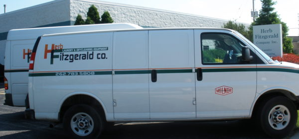 Parts and Service Laundry Vehicle