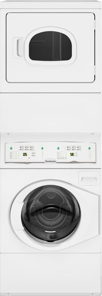 Huebsch-commercial-stack-washer-dryer